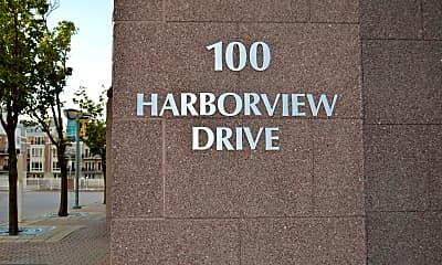 Community Signage, 100 Harborview Dr 411, 1