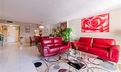 Living Room, 1865 S Ocean Dr 7H, 0