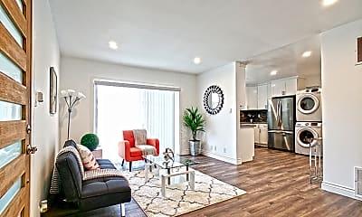 Living Room, 2040 S Sherbourne Dr 4, 1