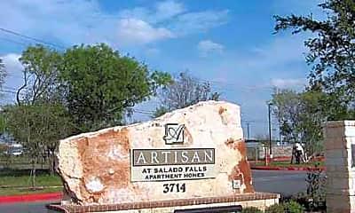 Community Signage, Artisan at Salado Falls, 2
