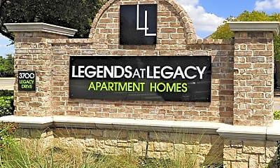 Community Signage, Legends at Legacy, 2
