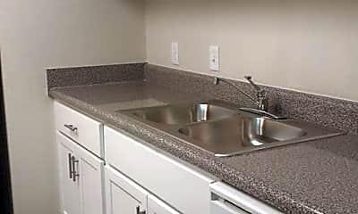 Kitchen, Palm Place Apartments, 0
