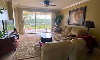 Living Room, 10111 Colonial Country Club Blvd 2304, 1