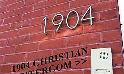 Community Signage, 1904 Christian St, 0