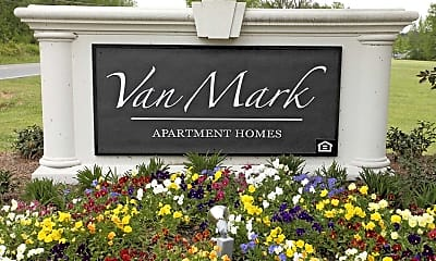 Community Signage, Van Mark Apartments, 2