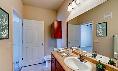 Bathroom, Ingleside Apartments, 2
