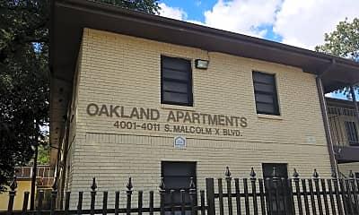 Oakland Apartments, 1