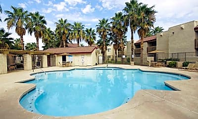 Pool, Townhomes On The Park, 0