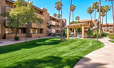 Building, Villas on Apache ASU Off Campus Housing (By-the-Bed Pricing), 0