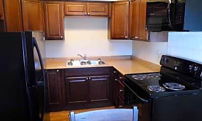Kitchen, Alcove Apartments, 1