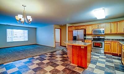 Kitchen, Corner View Apartments, 0