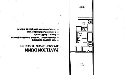 Bathroom, 419 E 7th St, 2