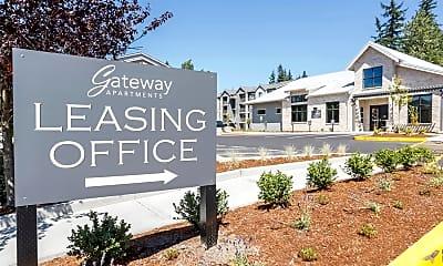 Community Signage, Gateway Apartments, 2