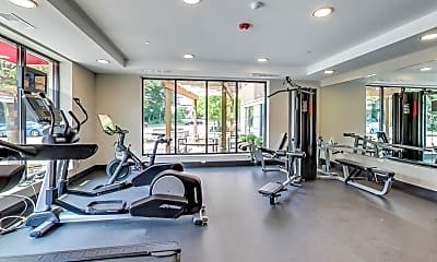 Fitness Weight Room, 229 PARK, 2