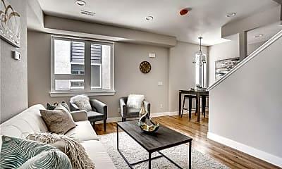 Living Room, 1739 Irving St, 1