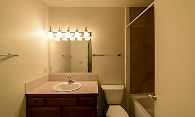 Bathroom, Rock Creek Apartments, 2