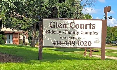 Glen Courts Apartments, 1