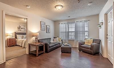Living Room, Revelry Flats, 0