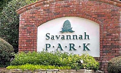 Community Signage, 3501 Savannah Park Ln, 2