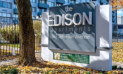 Community Signage, The Edison, 2