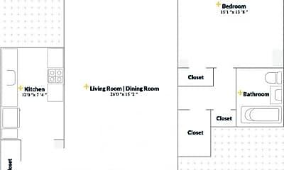Bathroom, 531 E 20th St, 2