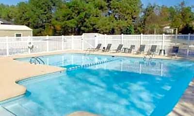 Pool, Oakdale Villas, 1