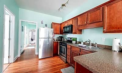 Kitchen, Room for Rent -  a half block (2minute) walk to bu, 1