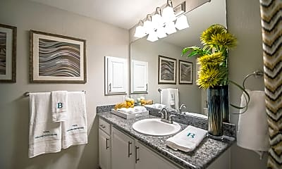 Bathroom, The Brownstones Townhome Apartments, 2