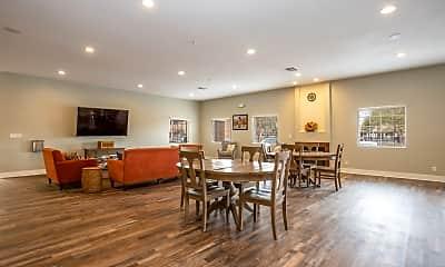 Dining Room, Lake Tonopah Senior Apartments, 2