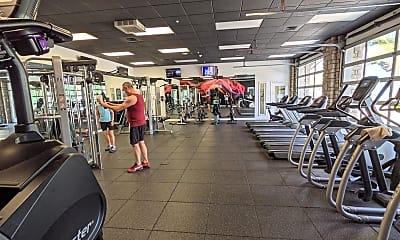 Fitness Weight Room, 1301 Speer Blvd, 1