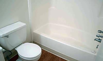 Bathroom, Valley Apartments, 2