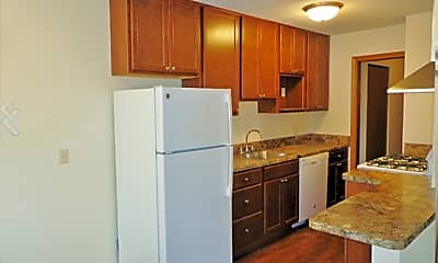 Kitchen, Aldrich Apartments, 1