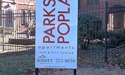 Community Signage, 1969 Poplar Ave, 1