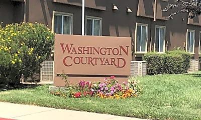 Washington Courtyard, 1
