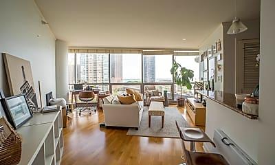 Living Room, 420 E Waterside Dr 912, 1