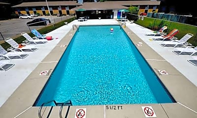 Pool, Glendale Townhomes, 1