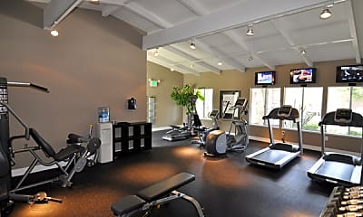 Fitness Weight Room, Heatherstone Apartments, 0
