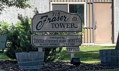 Fraser Tower, 1