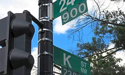 Community Signage, 922 24th St NW 403, 1