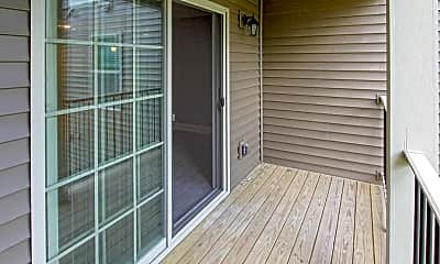 Patio / Deck, The Residences at Center Pointe, 2