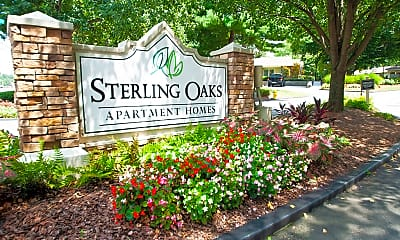 Community Signage, Sterling Oaks Apartments, 2