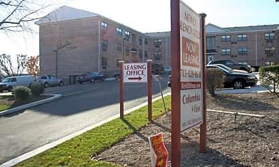Community Signage, Columbia View, 1