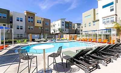 Pool, The Glen at University Park - PER BED LEASE, 1