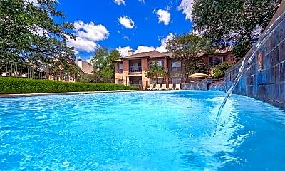 Pool, Live Oaks Apartment Homes, 1