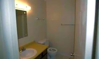 Bathroom, Fieldcrest Apartments, 2