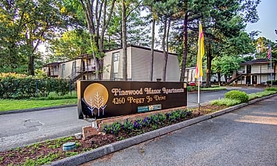Community Signage, Pinewood Manor Apartments & Townhomes, 0