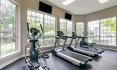 Fitness Weight Room, The Preserve at Southwind, 2