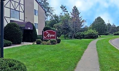 Community Signage, Alpine Apartments, 0
