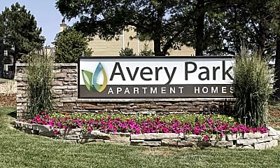 Community Signage, Avery Park Apartment Homes, 2