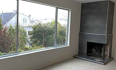 Living Room, 2935 Clay St, 0
